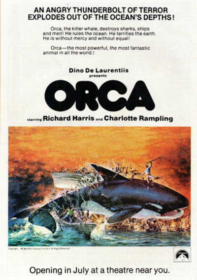 Orca the killer whale movie - photo#3